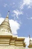 Guld- och himmel Royaltyfria Foton