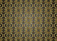 Guld- och mörk vektorbakgrund Arkivfoton