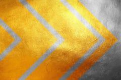 Guld och silver som blänker grungy idérik/unik lyxig abstrakt bakgrund för texturmodell, vektor för bild för designelementillustr Arkivfoto