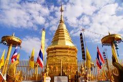 Guld- pagod Arkivfoton