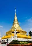 guld- pagoda Royaltyfri Fotografi