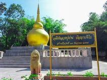 guld- pagoda Royaltyfria Foton
