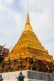 guld- pagoda Arkivfoto