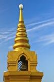 guld- pagodasaketwat Royaltyfri Fotografi