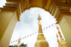 500 guld- pagoder Royaltyfri Bild
