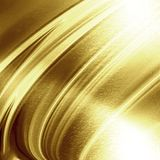 Guld- panel Arkivbild