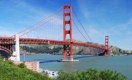 guld- panorama- för broport Arkivfoton