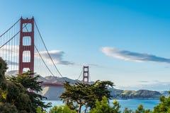 guld- panorama för port royaltyfri fotografi