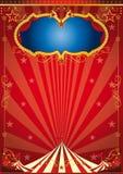 Guld- parti för cirkus Arkivfoton
