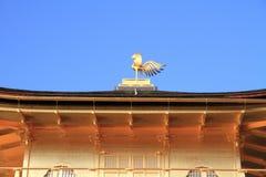 Guld- paviljong av den Kinkaku jien i Kyoto Royaltyfria Bilder