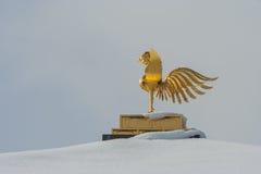 Guld- paviljong av den Kinkakuji templet Royaltyfri Bild