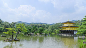 Guld- paviljong - Kyoto - Japan Arkivbilder