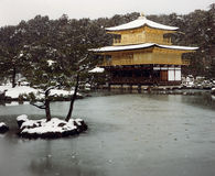 guld- pavillion Royaltyfri Bild