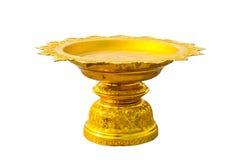 Guld- phan i buddistiska tempel Royaltyfria Bilder