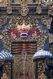 Guld- port av Bali Royaltyfria Foton