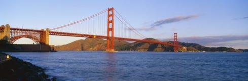 Guld- port Bridgein Arkivfoto