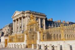 Guld- port på Versailles. Royaltyfri Bild