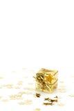 guld- present Arkivfoton