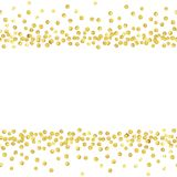 Guld- pricklinje Arkivbild