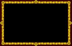 guld- proportion för gudomlig ram Royaltyfria Bilder