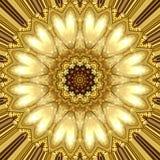 Guld- prydnad Royaltyfri Fotografi