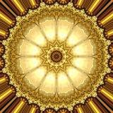 Guld- prydnad Royaltyfri Bild