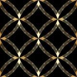 Guld- prydnad för vektor. Fotografering för Bildbyråer