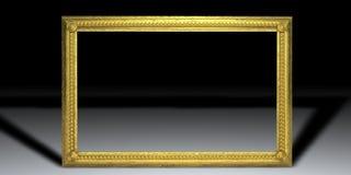 guld- ram vektor illustrationer