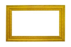 guld- ram royaltyfri bild