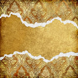 guld- ram Arkivfoton