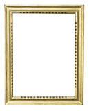 Guld- ram Arkivbild
