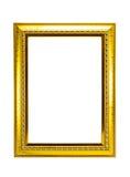 guld- ram Fotografering för Bildbyråer
