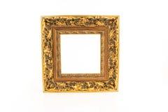 guld- ram Royaltyfria Bilder