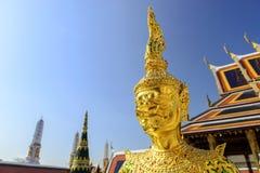 Guld- Ramayana i den kungliga palancen, Thailand Royaltyfri Foto