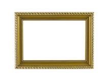 Guld- ramtappning Royaltyfria Bilder