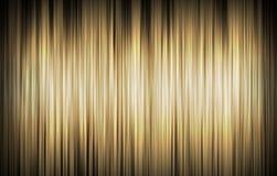 Guld- randig bakgrund Royaltyfri Bild