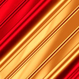 Guld--röd bakgrund Arkivfoto