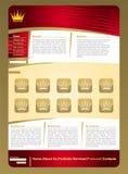 guld- rengöringsduk för jewelerysidamall vektor illustrationer