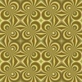 guld- retro lilla swirls för sl Royaltyfria Bilder
