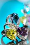 Guld- ringa Royaltyfri Bild