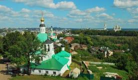 Forntida rysk stad av Vladimir Royaltyfri Foto