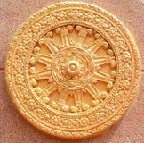 Guld- rowel Royaltyfri Fotografi