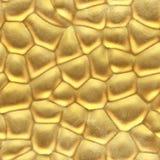 Guld- sömlös metall arkivfoton