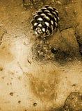 Guld- sörja arkivbild