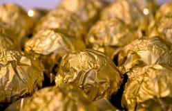 guld- sötsaker Royaltyfria Foton