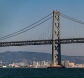 Guld- San Francisco utfärda utegångsförbud för överbryggar Arkivfoton