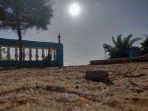 guld- sand fotografering för bildbyråer