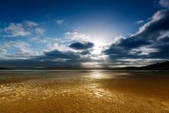 guld- sands Arkivfoton