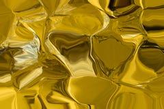 Guld- satäng som texturmodell Fotografering för Bildbyråer