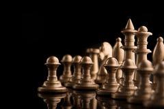 guld- schackdiagram Royaltyfria Foton